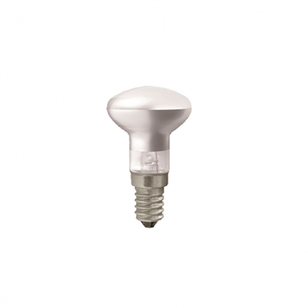 LAES reflector spaarhalogeenlamp - E14 - 18W - 185lm - warm wit