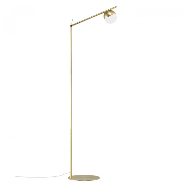 Nordlux Contina vloerlamp messing