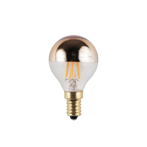 SPL kopspiegel LED - E14 - 4W - 230lm - extra warm wit - goud