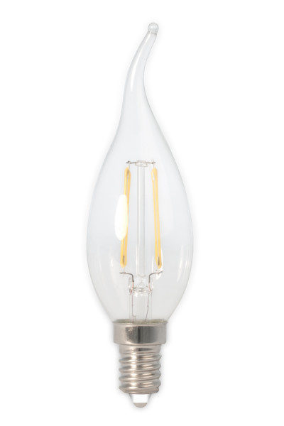 Calex tipkaars kooldraad LED - E14 - 2W - 200lm - warm wit