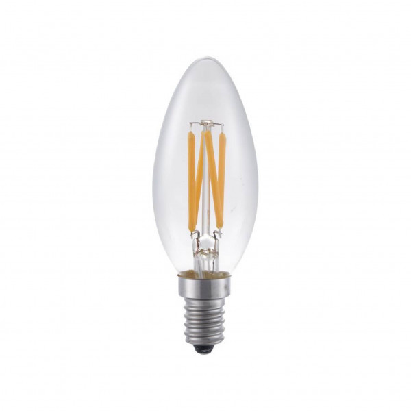 SPL Fila Candle LED lamp E14 - 4W - 320lm - helder - extra warm wit