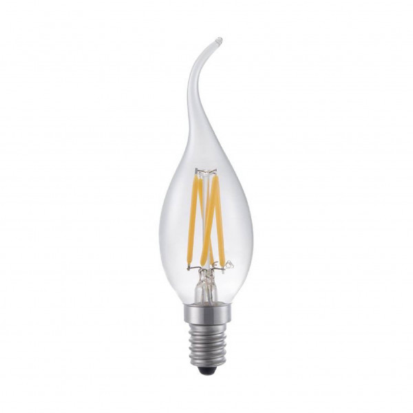 SPL Fila Tip Candle LED lamp E14 - 4W - 320lm - helder - extra warm wit